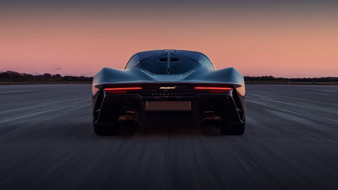 El McLaren Speedtail será un auto exclusivo de solo 106 unidades
