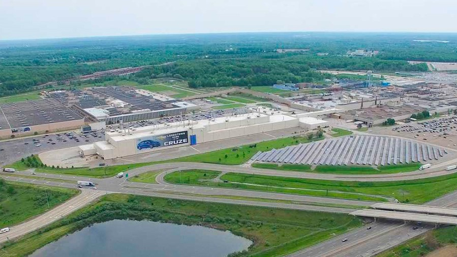 Lordstown Motors se hizo de una fábrica de General Motors