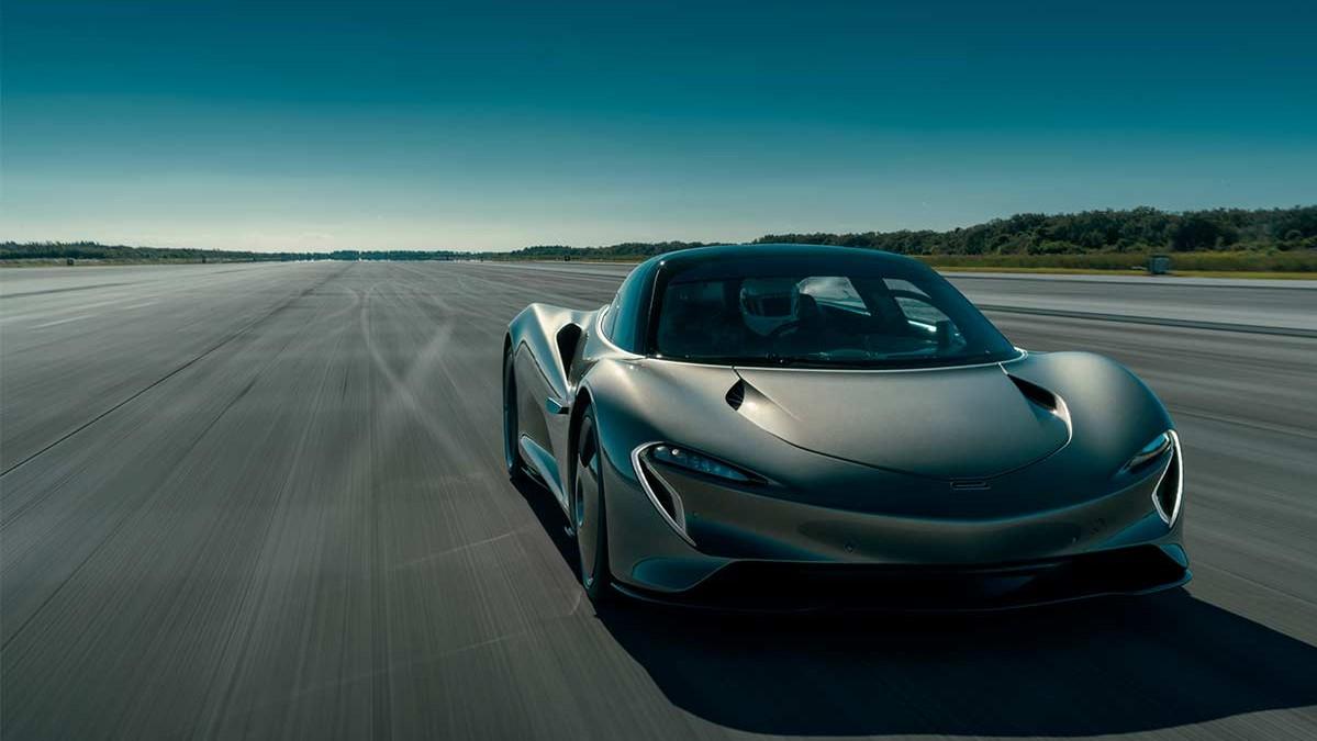 El McLaren Speedtail logró superar la velocidad de 400 km/h