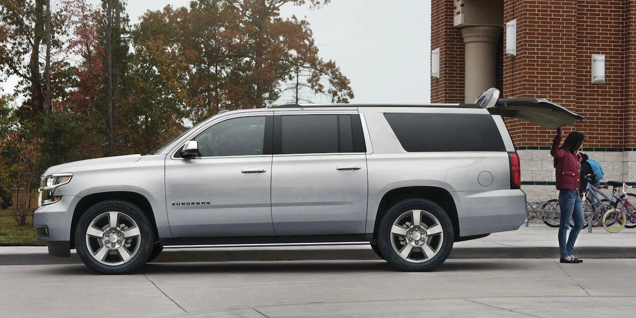 Chevrolet Suburban Premier 2020 Se queda cerca de los 6 metros de largo