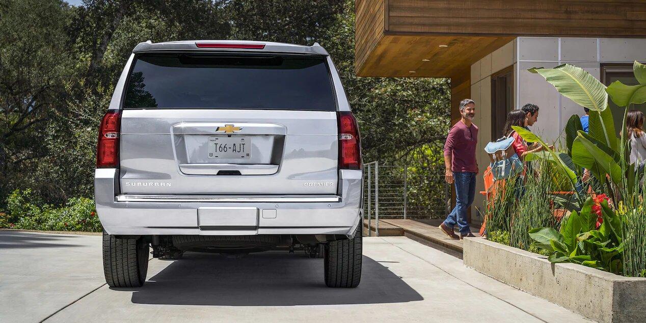 La Chevrolet Suburban Premier 2020 es la más equipada de toda la gama