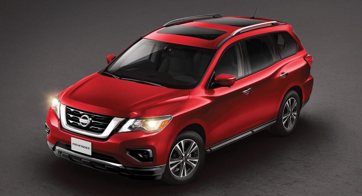 La Nissan Pathfinder 2020 precio es para siete pasajeros