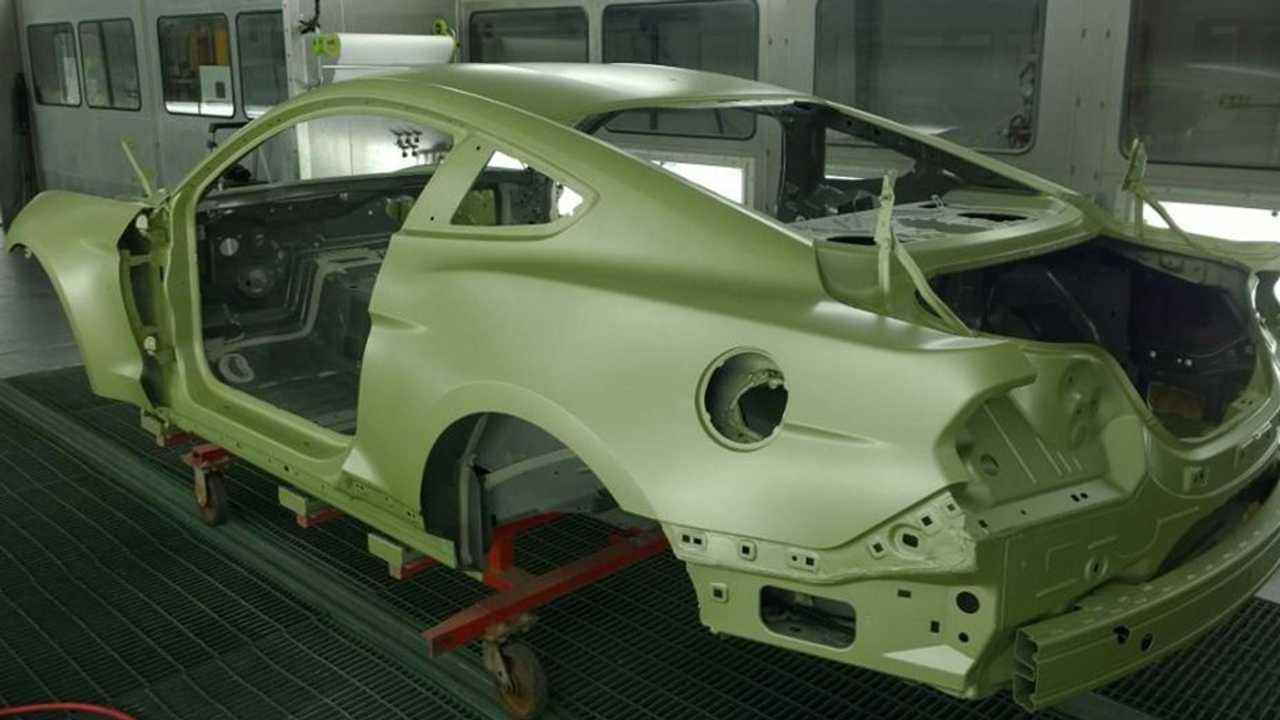 Ford Mustang Shelby GT500 Green Hornet