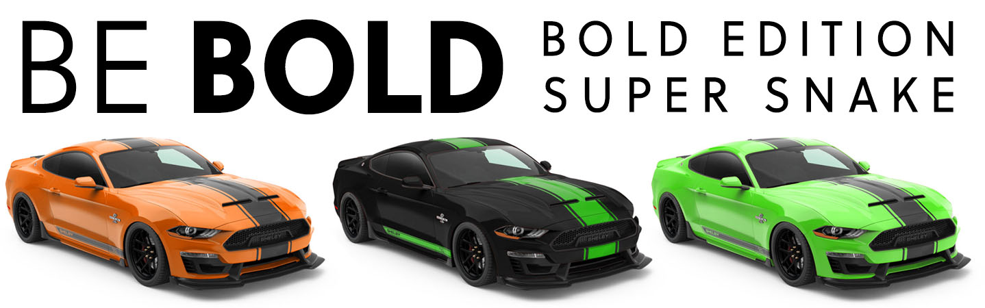 Shelby Super Snake Bold Edition