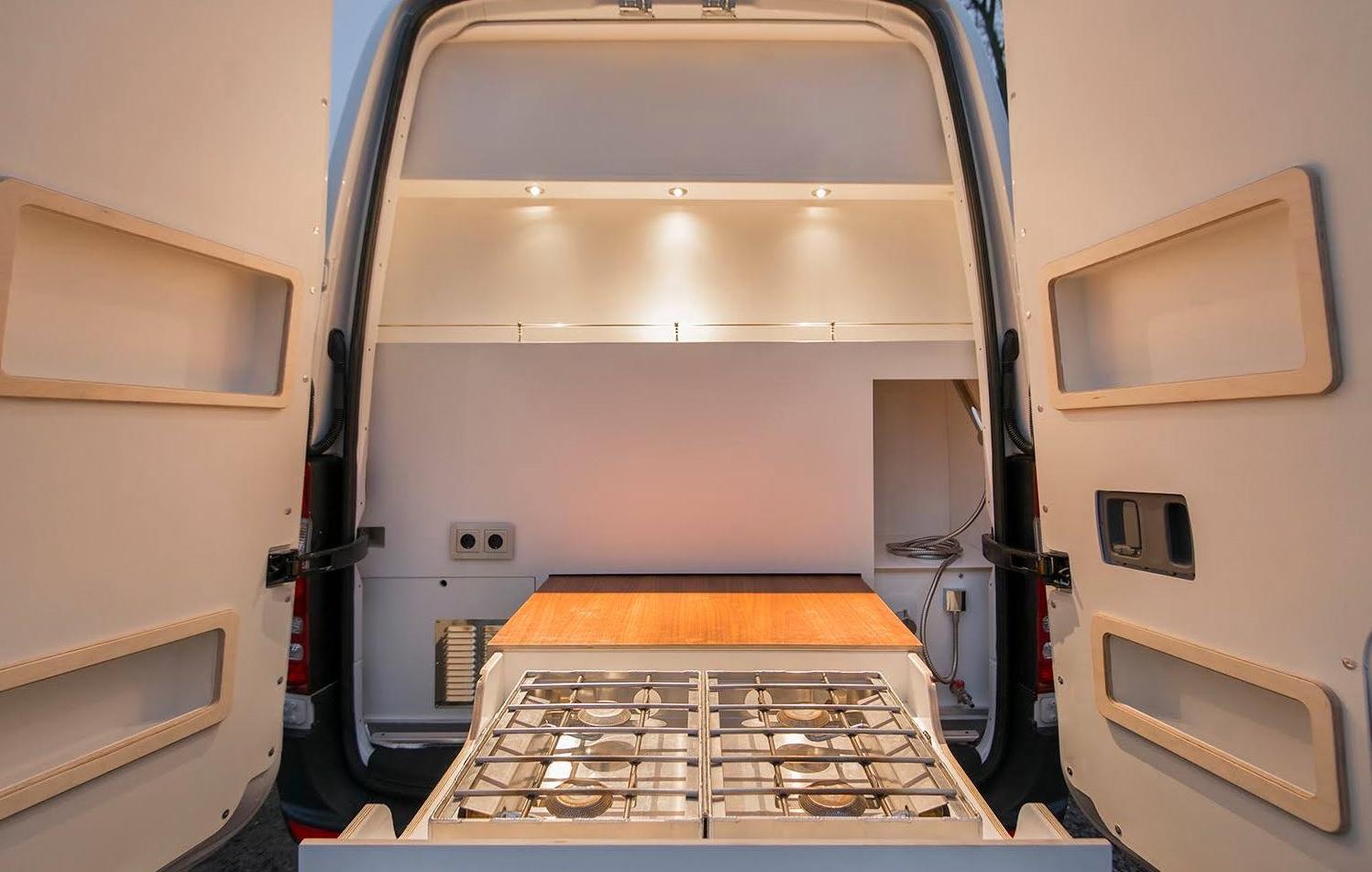Mercedes-Benz Sprinter 'Culinatour' o cómo viajar con estilo