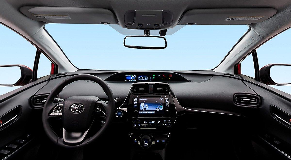 El Toyota Prius 2020 tiene bastante tecnología