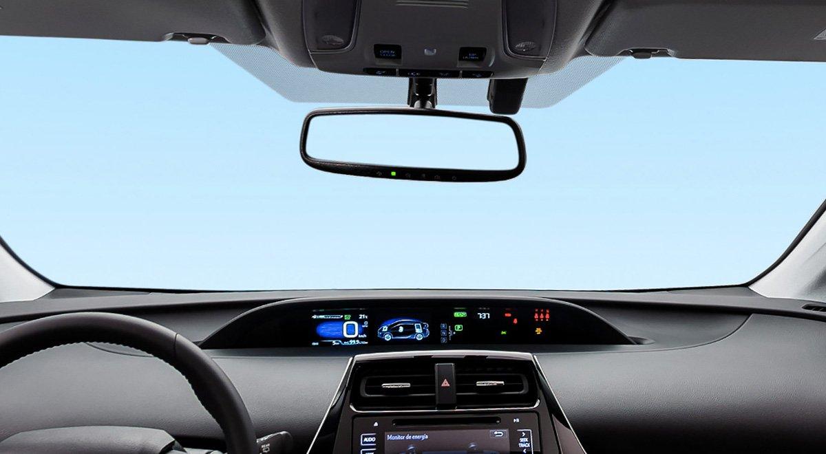 El Toyota Prius 2020 tiene mucha tecnología en su interior