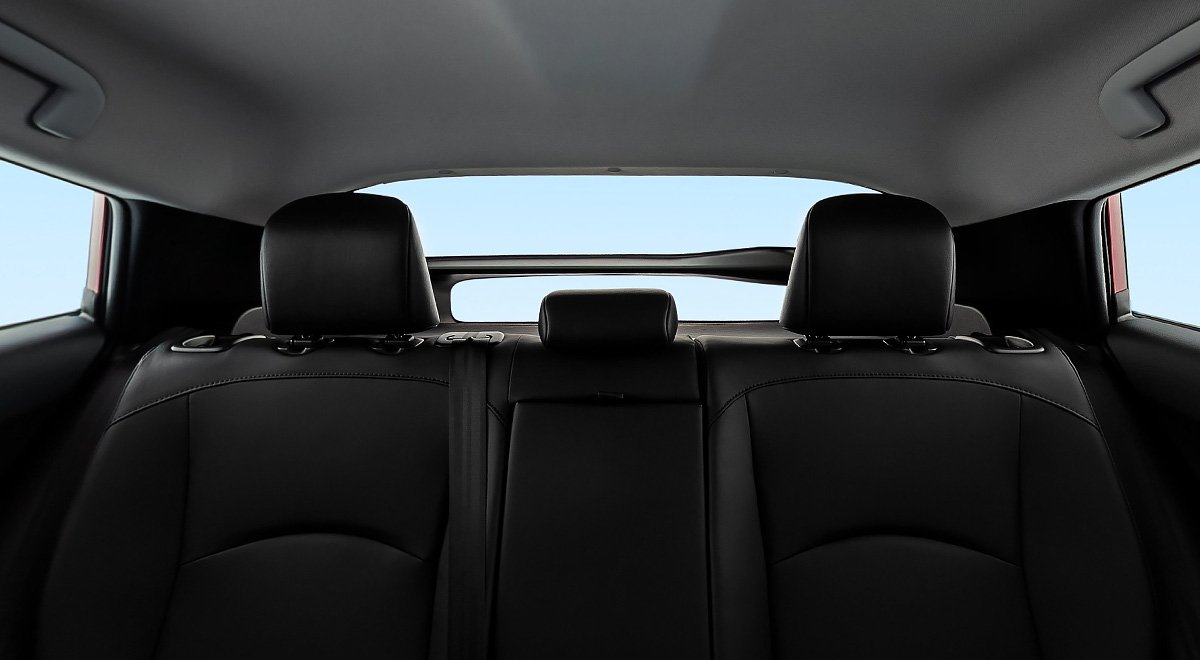 El Toyota Prius 2020 tiene asientos muy cómodos