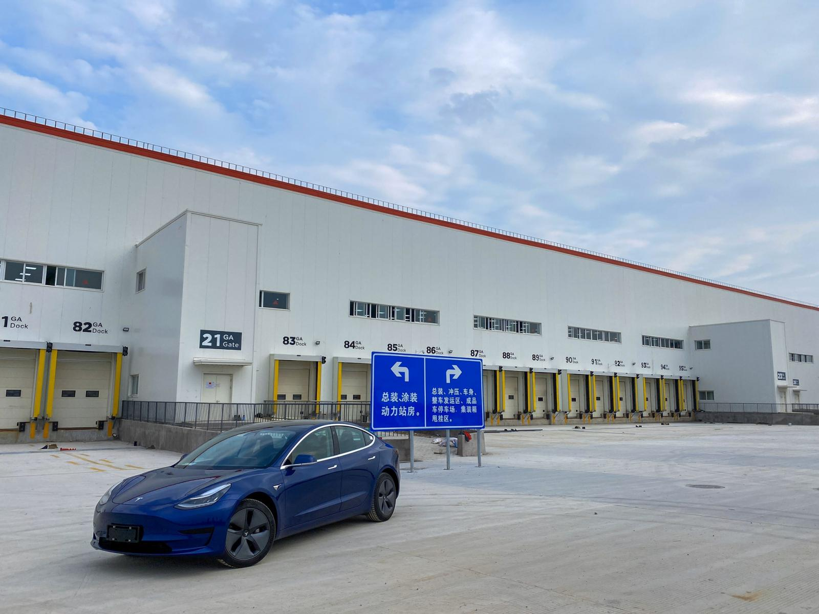 Tesla Model 3 Shanghai