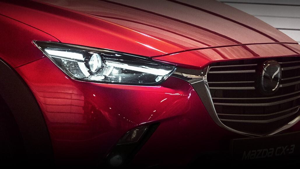 Sus faros principales incorporan tecnología LEDMazda CX-3 i Grand Touring 2020 resena opiniones