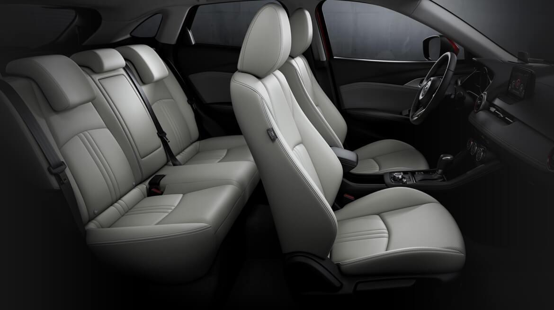 Mazda CX-3 i Grand Touring 2020 resena opiniones Presume asientos con vestiduras de piel