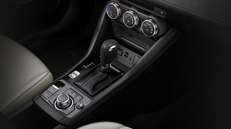 El minimalismo se hace presente en el habitáculo Mazda CX-3 i Grand Touring 2020 resena opiniones