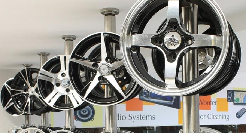 Tipos de rines para autos: Rines aluminio