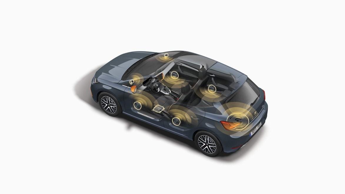 SEAT Ibiza Beats 2020 Su paquete de seguridad incluye 6 bolsas de aire