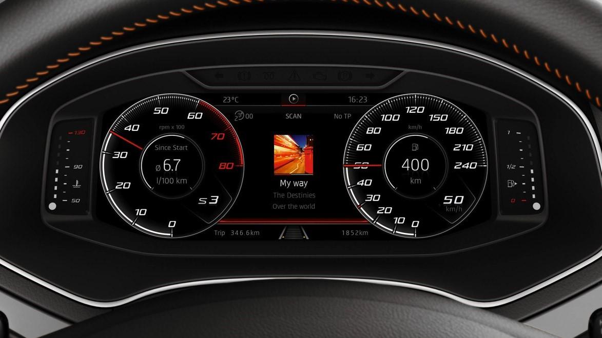 SEAT Ibiza Beats 2020 También lleva un cuadro de instrumentos digital