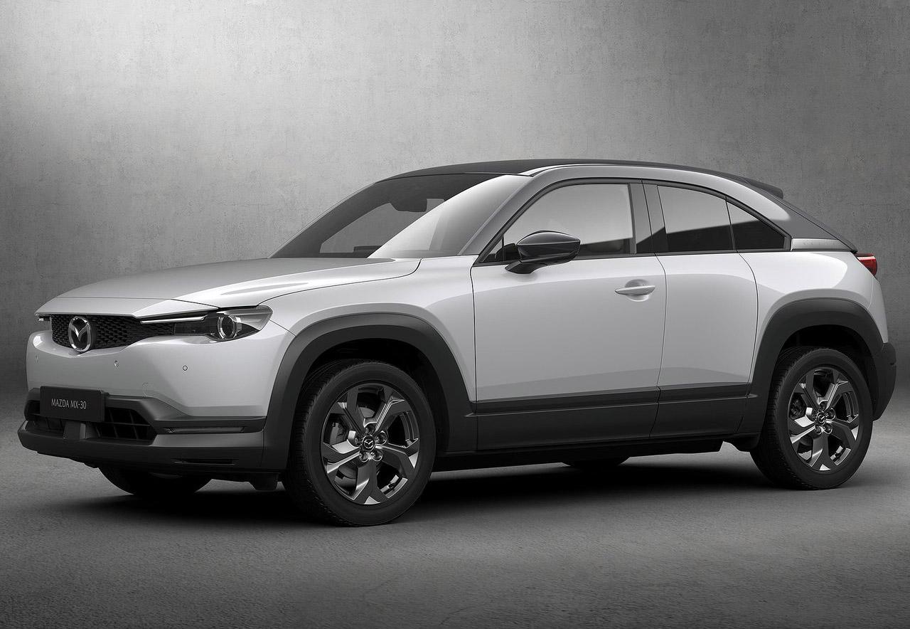 La Mazda MX-30 tendrá 200 km de autonomía