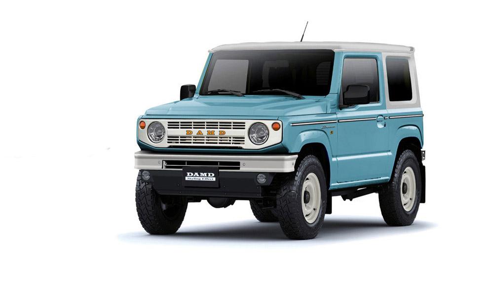La Suzuki Jimny Dronco hace alusión a la camioneta de Ford