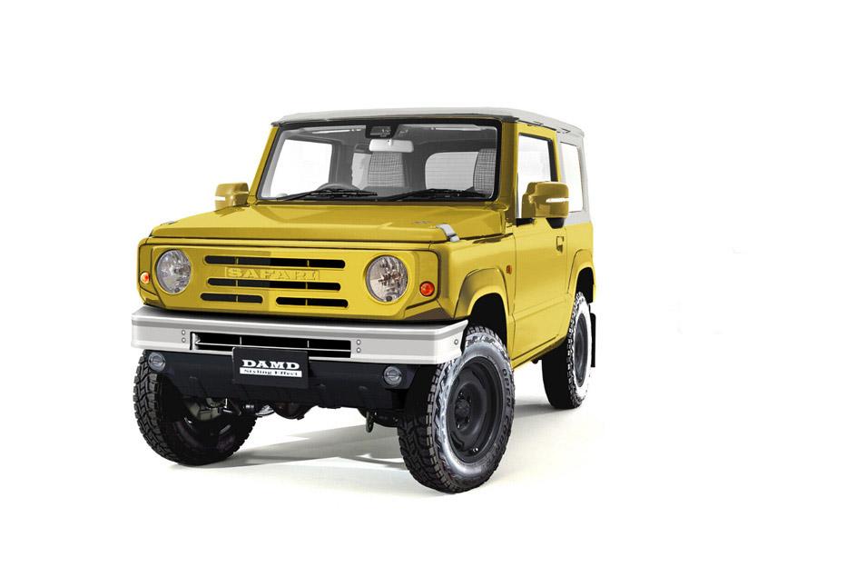 La Suzuki Jimny The Roots será presentada en Japón