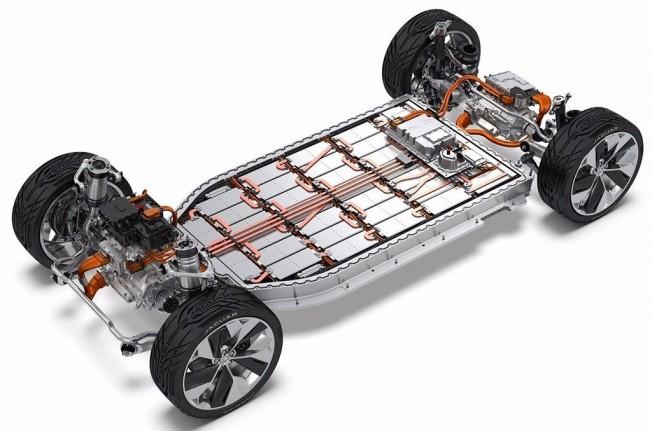 Batería Jaguar eléctrico