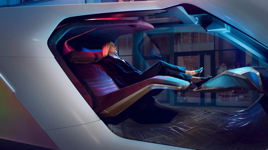 Las tecnologías de la BMW iNext tiene un carácter futurista