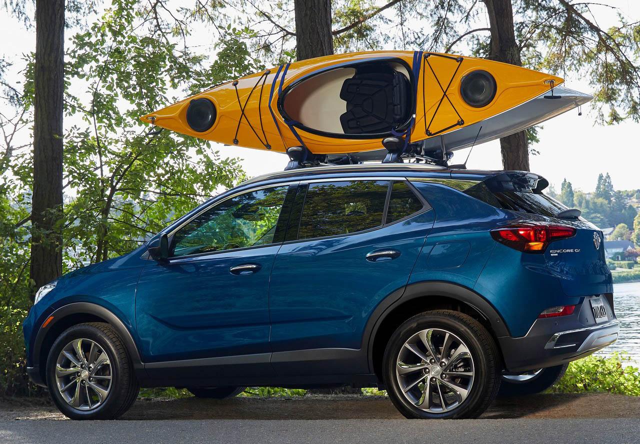 La Buick Encore GX Sport Touring 2020 resena opiniones deja el diseño conservador