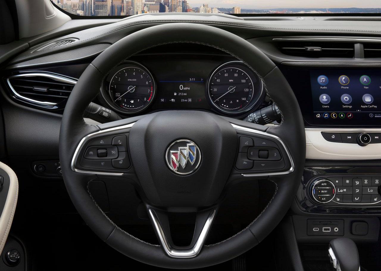 La Buick Encore GX Sport Touring 2020 resena opiniones cuenta con pantalla a color en el cuadro de instrumentos