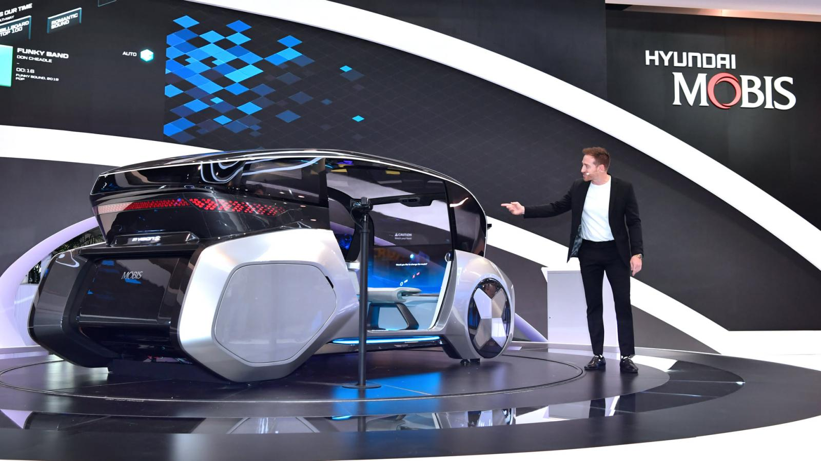 El Hyundai Mobis M.Vision S Concept llegó al CES de Las Vegas