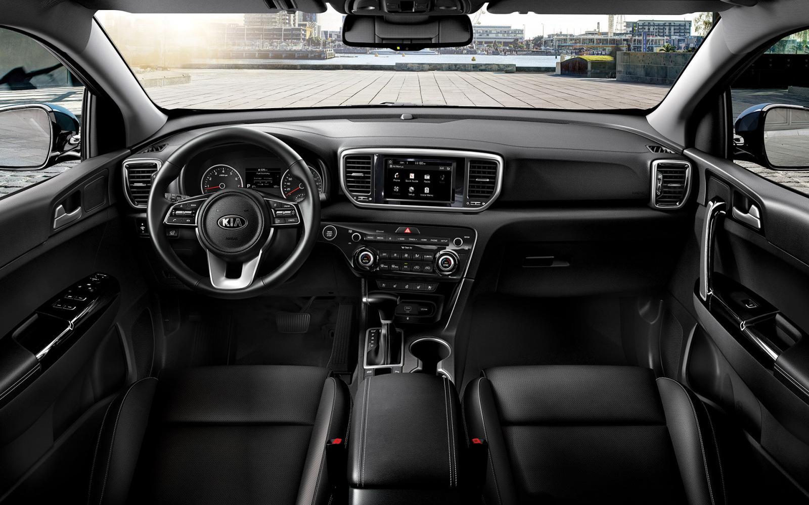 Kia Sportage SXL 2020 resena opiniones Presume asientos forrados de piel sintética