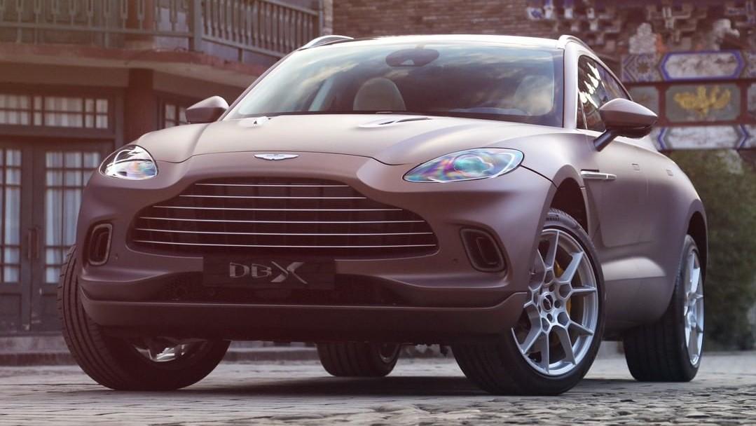 Aston Martin tiene grandes esperanzas en la DBX