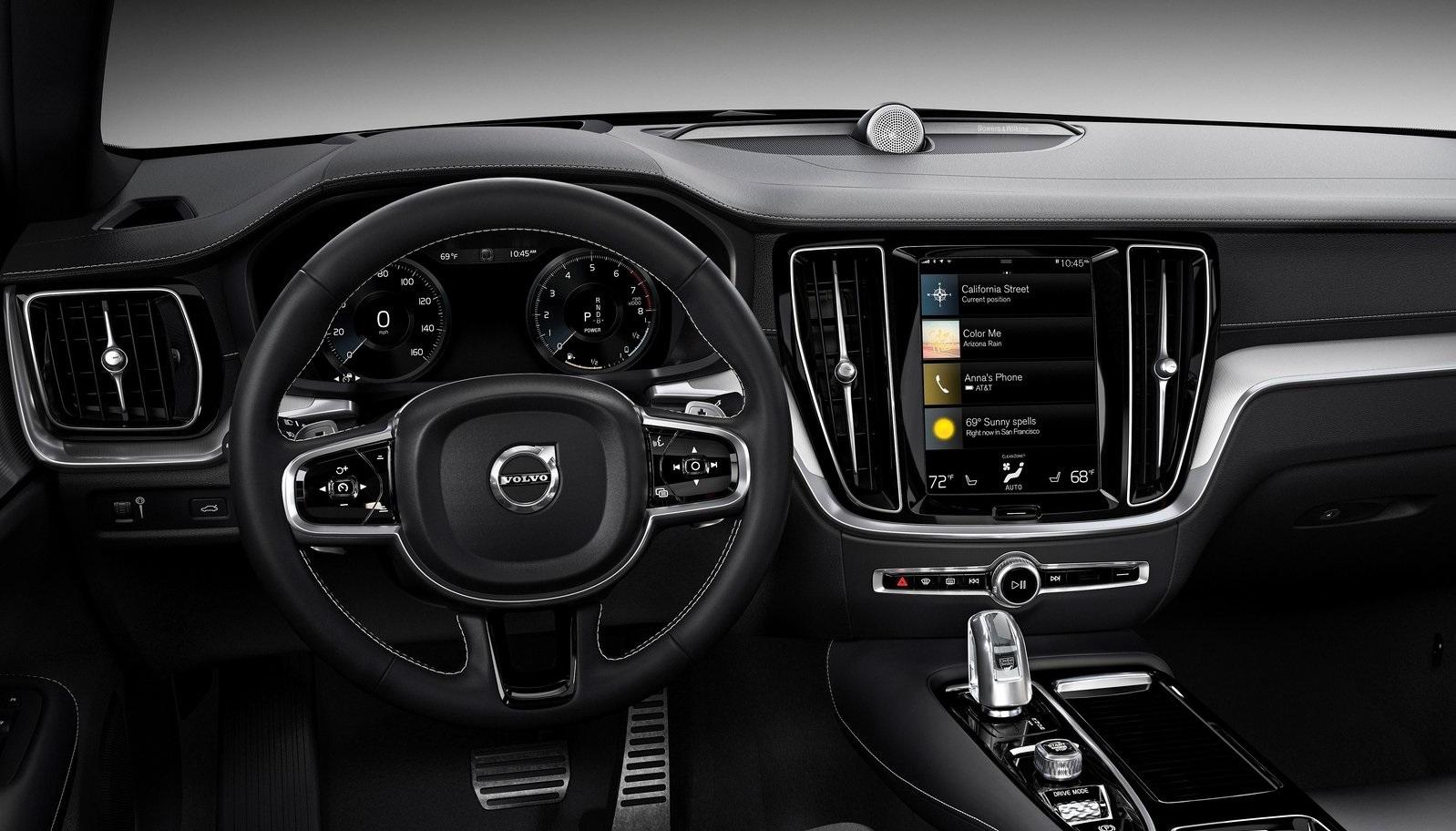 Volvo S60 palanca