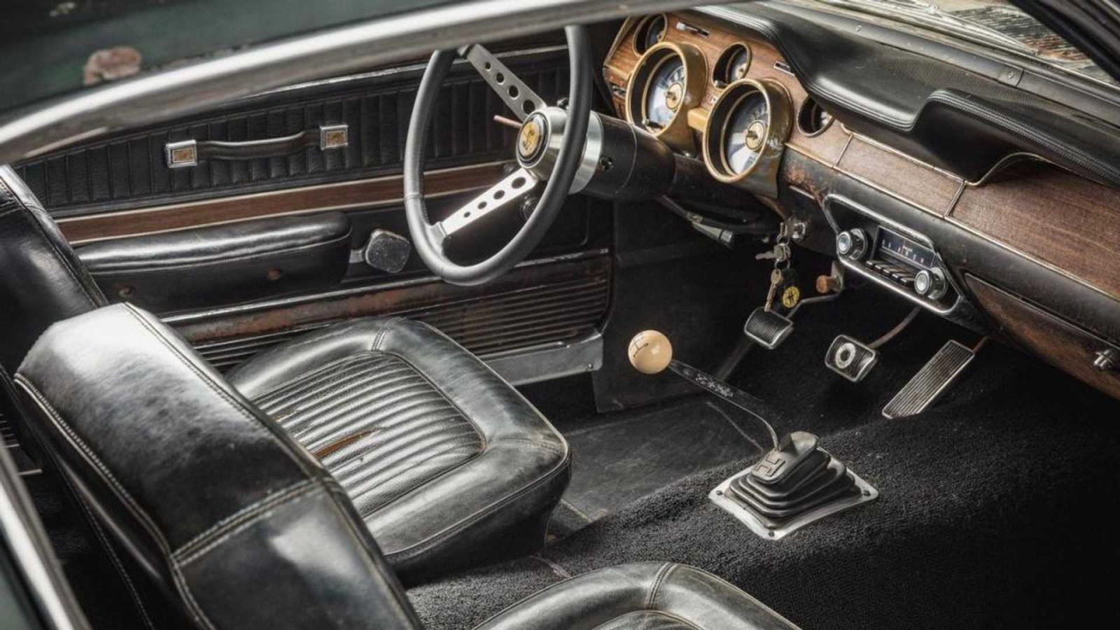 Ford Mustang GT Bullitt 1968