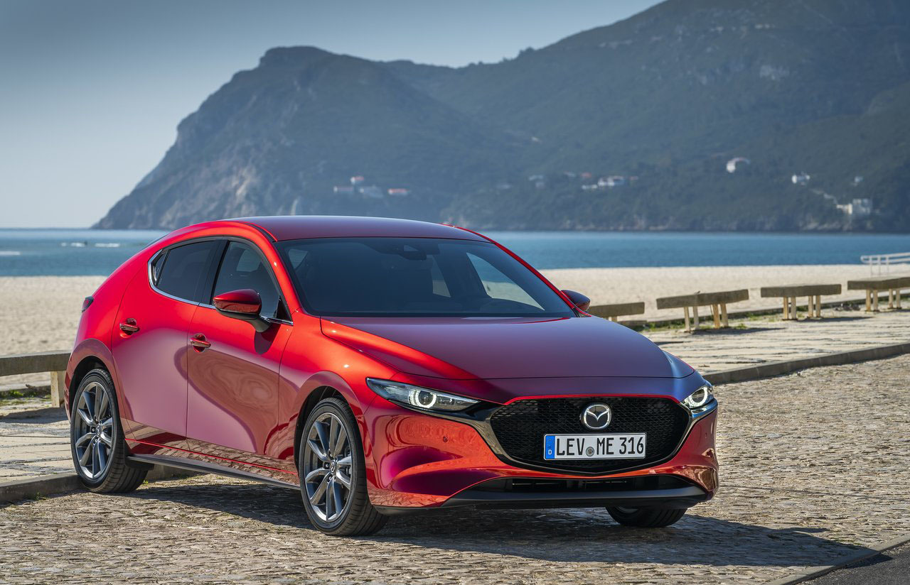 Mazda 3 es un modelo que se exporta desde México