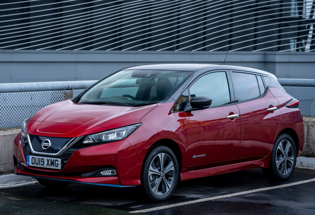 Nissan Leaf recibió actualizaciones para Japón