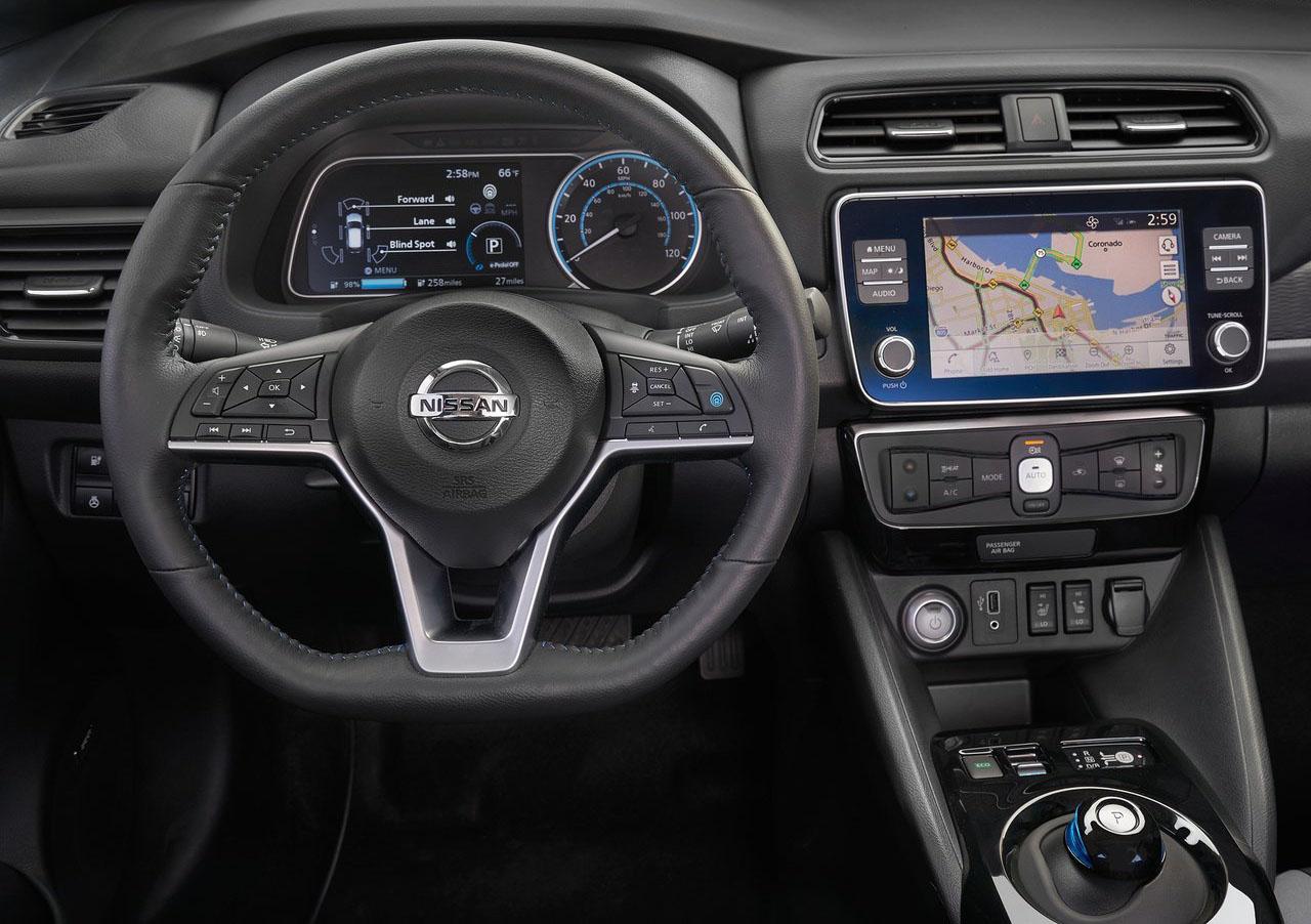 El Nissan Leaf 2020 también fue actualizado para Estados Unidos