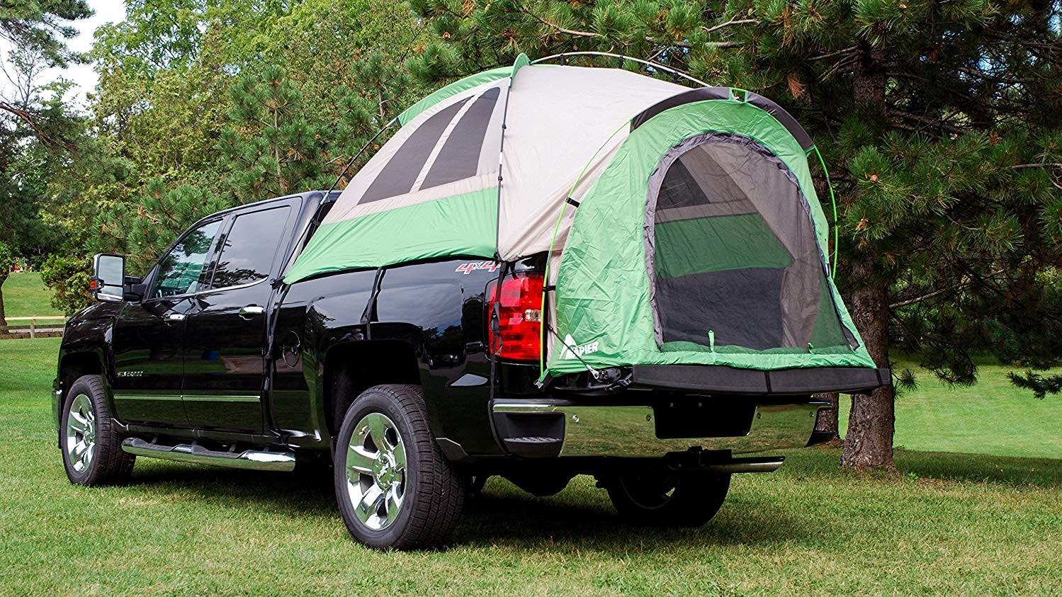 Las tiendas de campaña para pick-up demuestran la versatilidad de este tipo de vehículos
