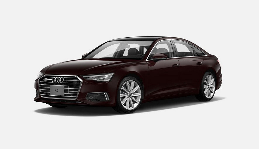 El Audi A6 55 TFSI S line 2020 resena opiniones tiene faros con tecnología LED