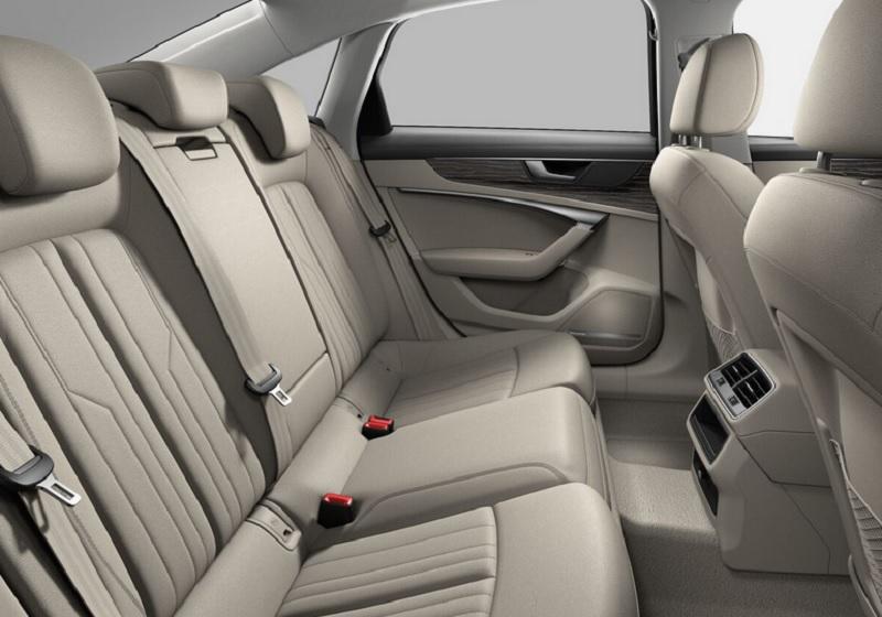 El Audi A6 55 TFSI S line 2020 resena opiniones tiene buen espacio interior