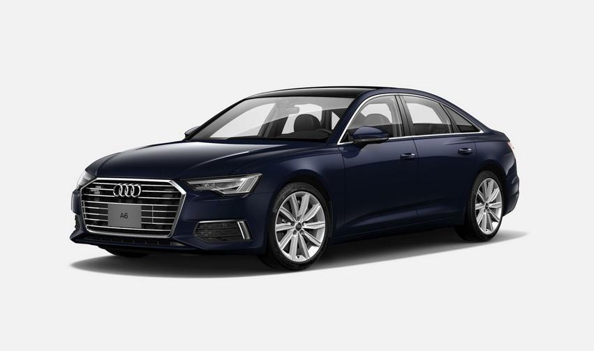 El Audi A6 55 TFSI S line 2020 resena opiniones tiene sistemamicrohíbrido de 48 voltios