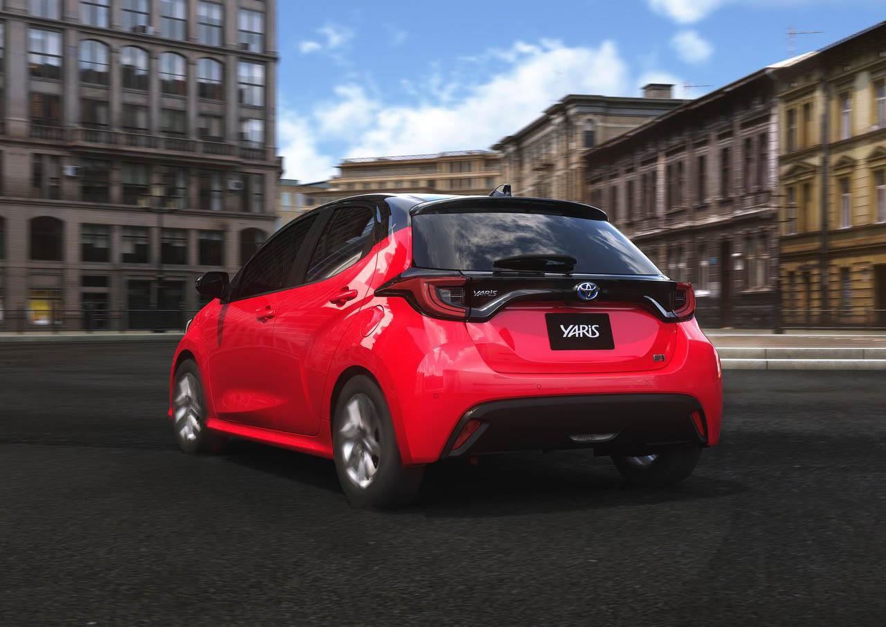 El Toyota Yaris se vende en México en versión hatchback y sedán