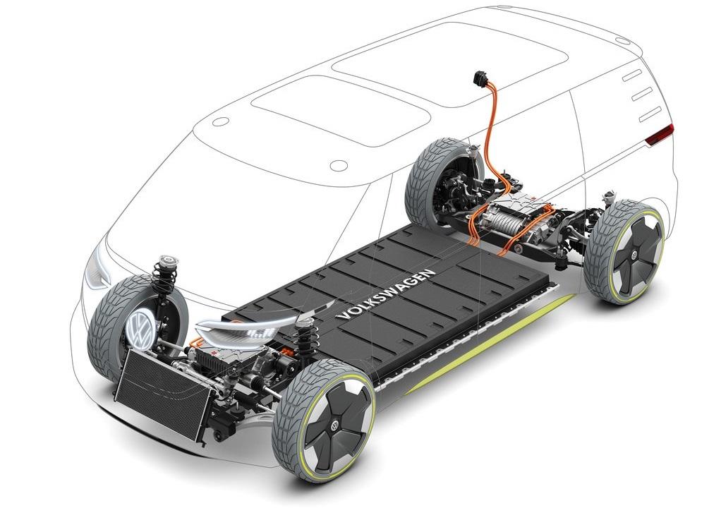 Volkswagen ID.Buzz baterías