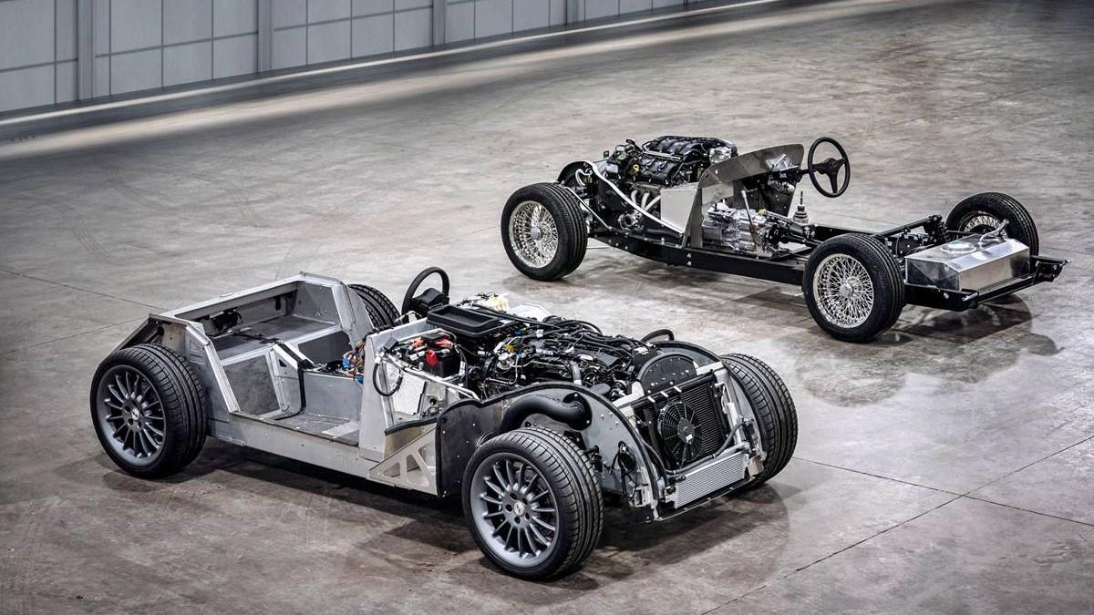 Morgan no fabricará más automóviles con chasis de acero