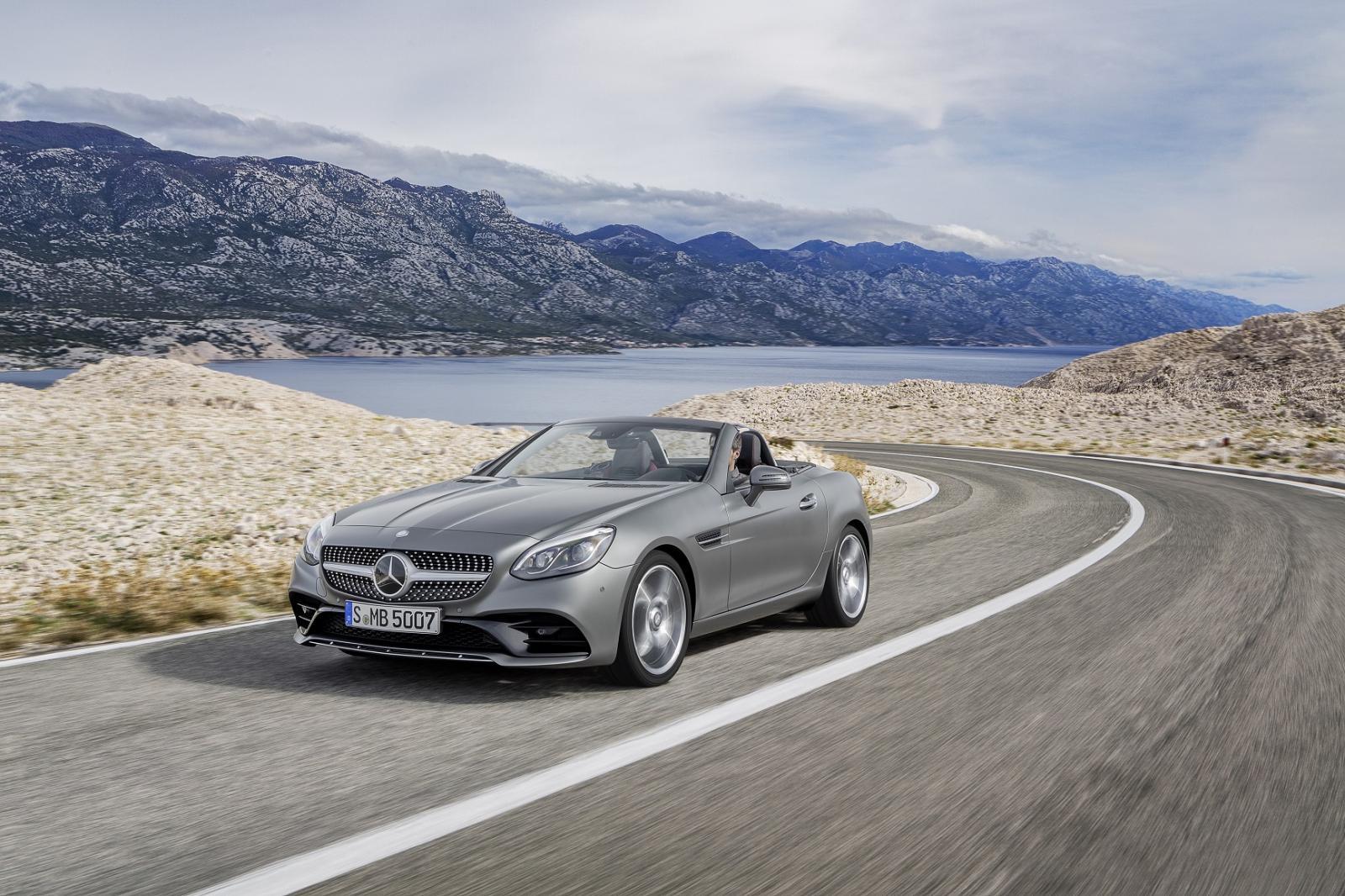 Mercedes-Benz SLC 300 2020 resena opiniones