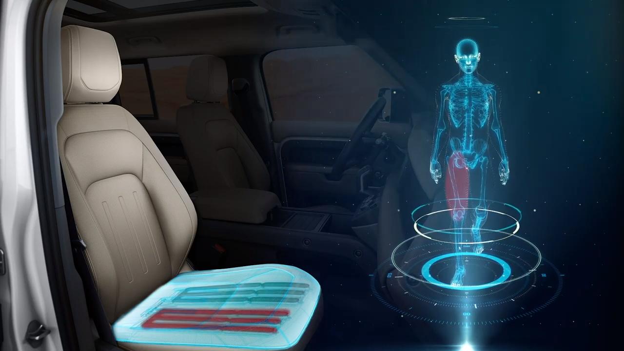 Los asientos inteligentes de Jaguar Land Rover prevendrán lesiones