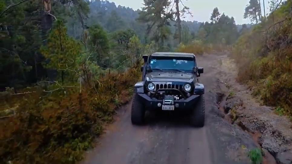 La ruta de los Arenales del Popocatépetl también resulta entretenida