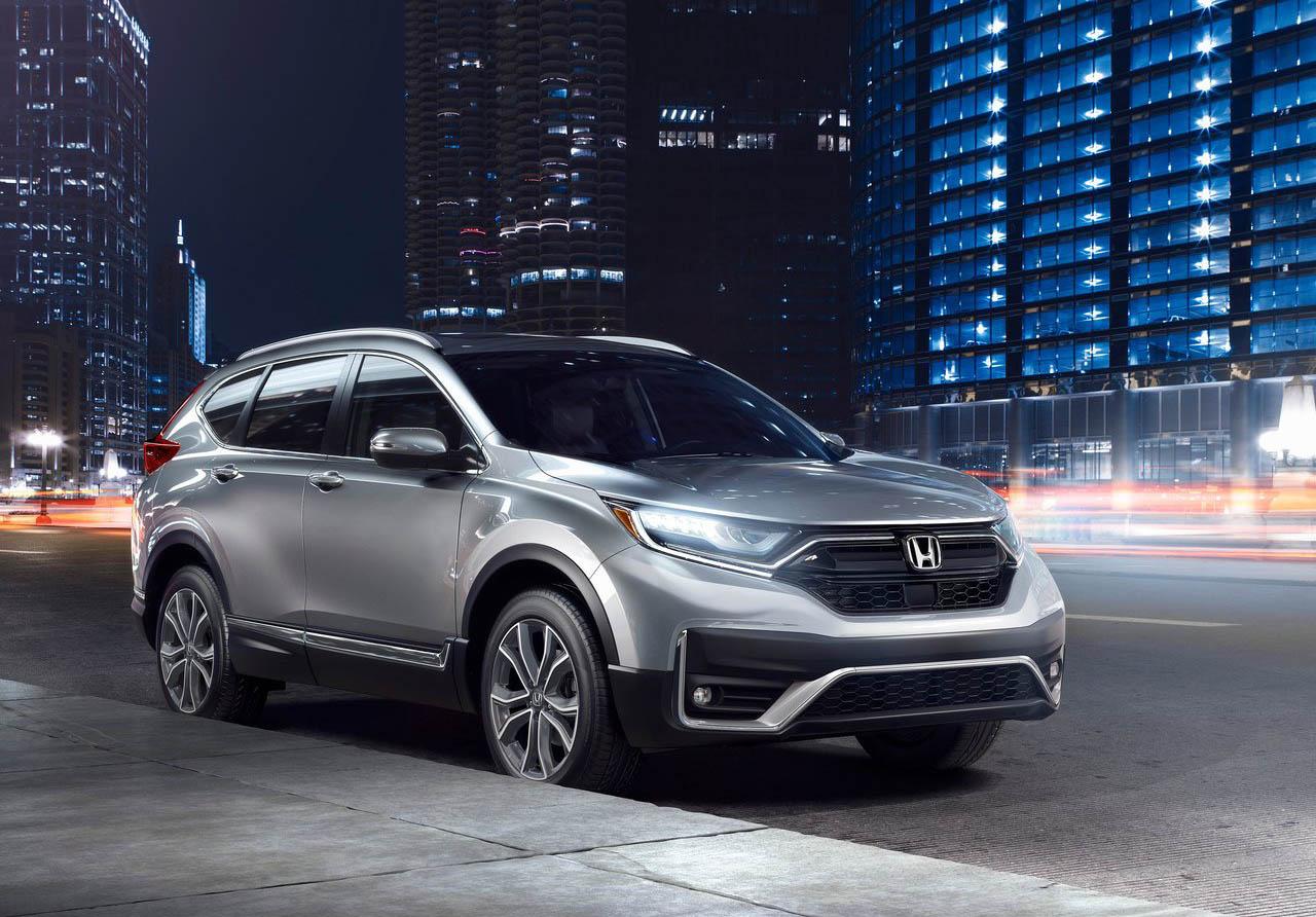 La Honda CR-V Touring 2020 resena opiniones recibió una actualización sutil