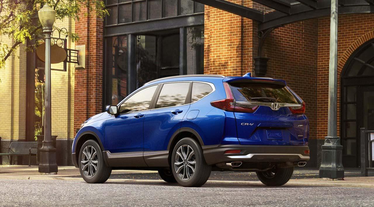 La Honda CR-V Touring 2020 resena opiniones tiene facias nuevas