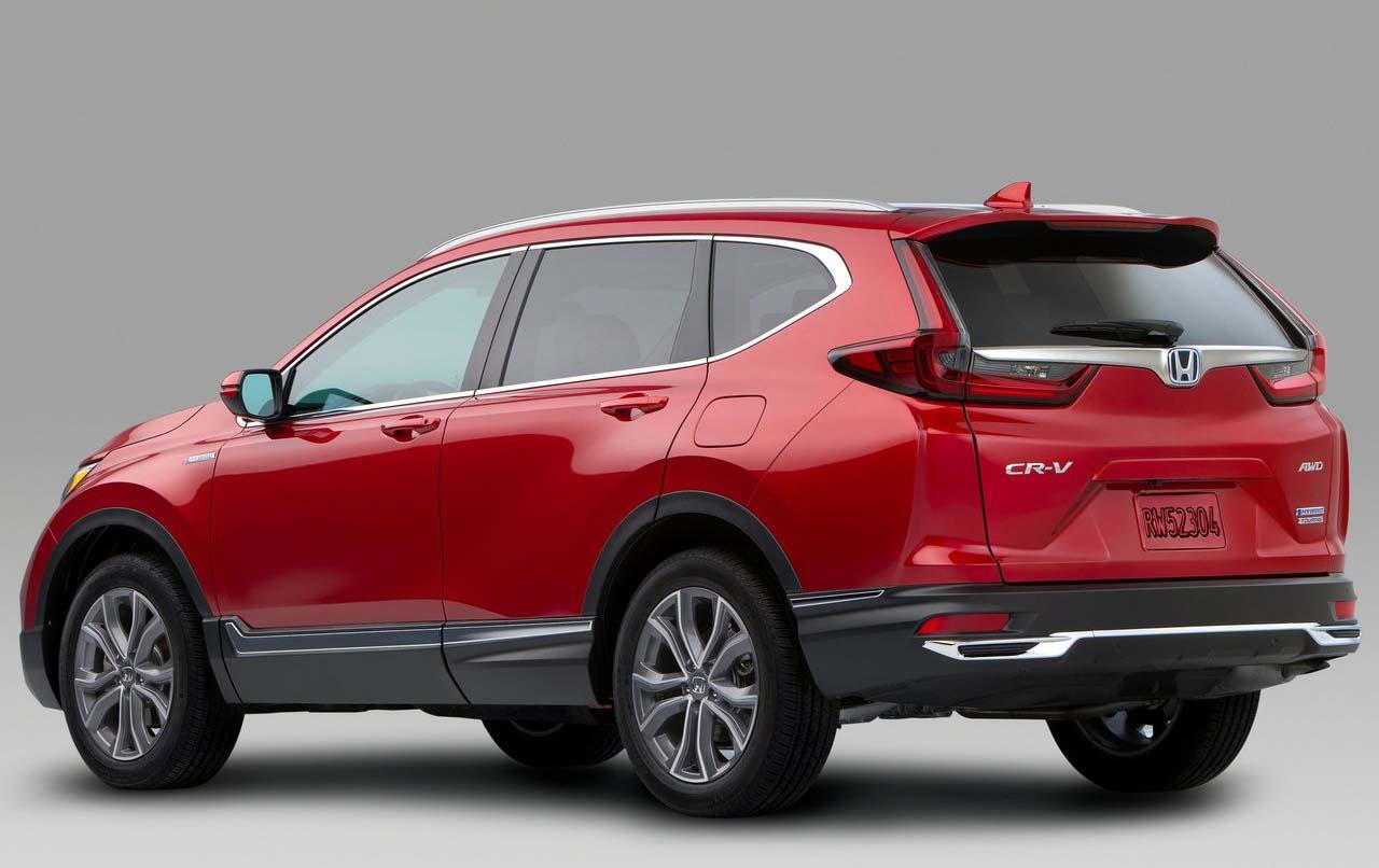 La Honda CR-V Touring 2020 resena opiniones tuvo cambios sutiles