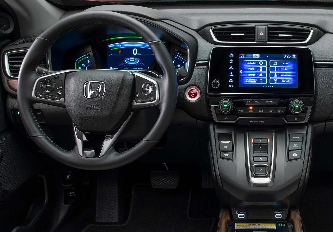 LaHonda CR-V Touring 2020 resena opiniones mantiene su pantalla táctil
