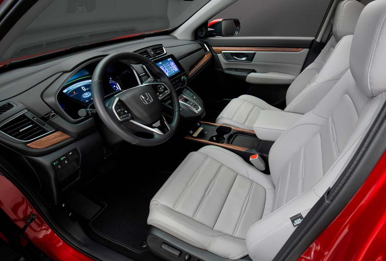 La Honda CR-V Touring 2020 resena opiniones tiene un interior más sofisticado