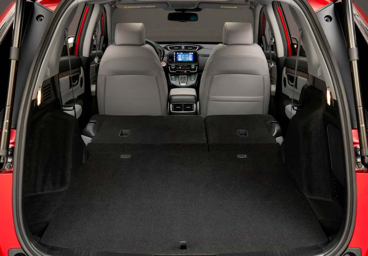 La Honda CR-V Touring 2020 resena opiniones tiene versatilidad en su espacio interior